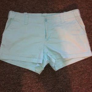 Turquoise London Jean shorts